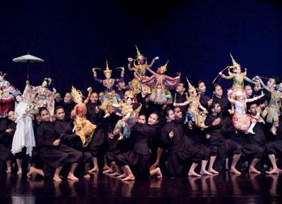 Thai Mask Dance (Khon)