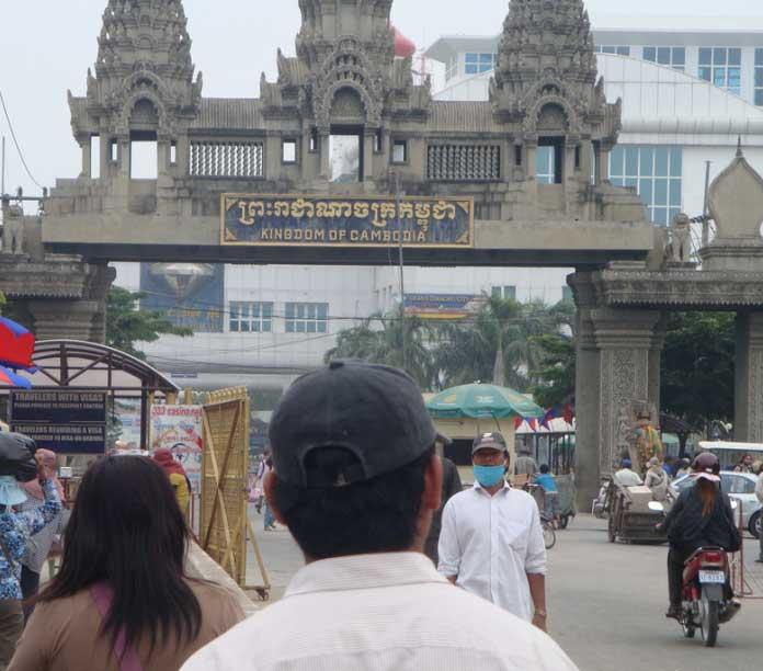 Cambodia overland tour