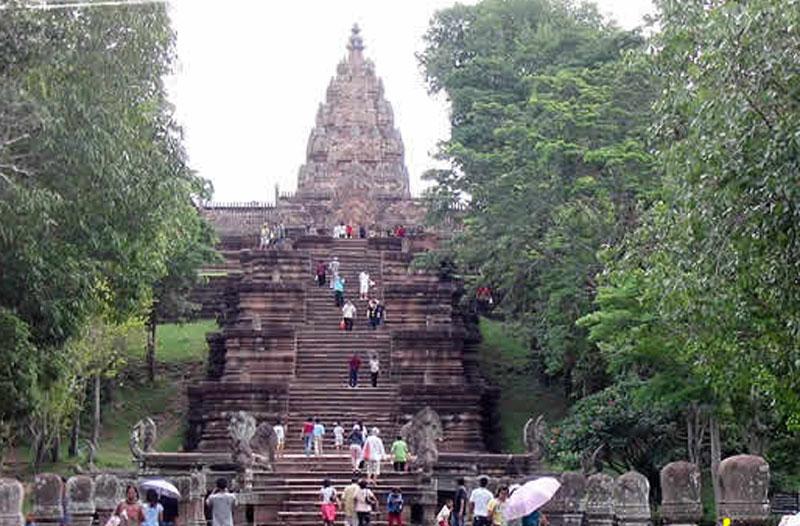 phnom rung tour